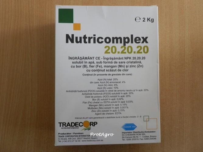 Nutricomplex 20-20-20; 2kg